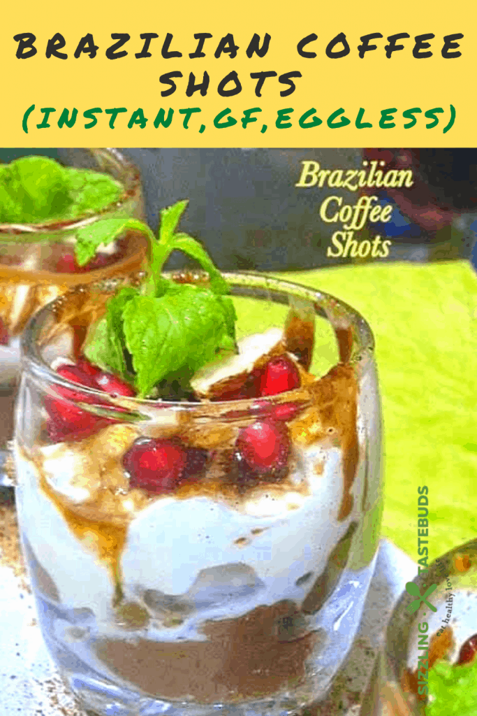 A Zero Cook Instant dessert with Brazilian Coffee flavours. Served best chilled for party or as a summer treat