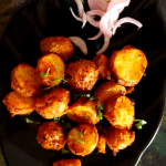 Airfryer Roasted Baby Potatoes